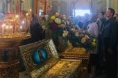 На московском подворье Православной Церкви в Америке молитвенно почтили память святителя Иоанна, архиепископа Шанхайского и Сан-Францисского