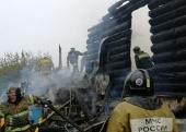 В результате пожара пострадал Казанский Чимеевский мужской монастырь Курганской митрополии