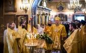В день памяти святителя Гурия глава Казахстанского митрополичьего округа совершил Литургию у мощей святого в Казани