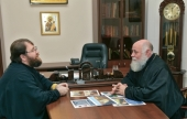 В Финансово-хозяйственном управлении обсудили вопросы реставрации храмов Черняховской епархии