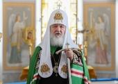 Патриаршая проповедь после Литургии в Коневском Рождество-Богородичном монастыре