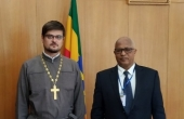 DECR representative meets with Ambassador of Ethiopia to Russia
