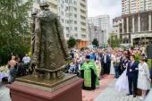 Памятник благоверным Петру и Февронии открыт в Солнечногорске