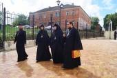 Комиссия Синодального отдела по монастырям и монашеству посетила территорию бывшего Никитского монастыря в подмосковной Кашире