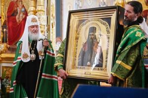 Патриаршая проповедь в день памяти преподобных Сергия и Германа Валаамских после Литургии в Валаамском монастыре
