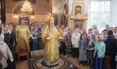 Патриарший наместник Московской епархии возглавил престольные торжества в храме святых апостолов Петра и Павла в подмосковном Лыткарине