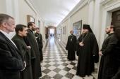 Новый ректор Санкт-Петербургской духовной академии вступил в должность