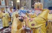 Иеромонах Игнатий (Голинченко), избранный епископом Енисейским и Лесосибирским, возведен в сан архимандрита