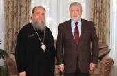 В Нур-Султане состоялась встреча митрополита Астанайского Александра с послом России в Казахстане А.Н. Бородавкиным