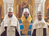 Иеромонах Силуан (Никитин), избранный епископом Петергофским, и игумен Василий (Кулаков), избранный епископом Николаевским, возведены в сан архимандрита