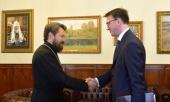 Митрополит Волоколамский Иларион встретился с послом России в Черногории