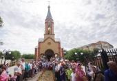 Новые храмы Украинской Православной Церкви освящены в Одесской, Тернопольской и Северодонецкой епархиях