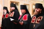 Слово архимандрита Василия (Кулакова) при наречении во епископа Николаевского, викария Хабаровской епархии