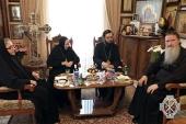 Руководитель Управления Московской Патриархии по зарубежным учреждениям совершил рабочую поездку в Святую Землю