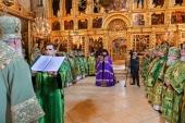 Слово Святейшего Патриарха Кирилла при вручении архиерейского жезла Преосвященному Силуану (Никитину), епископу Петергофскому