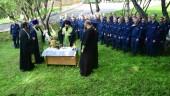 Впервые в Североморской епархии заложен храм на территории воинской части