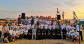 На побережье Азовского моря состоялся межъепархиальный фестиваль молодежной культуры «Православный Азов»