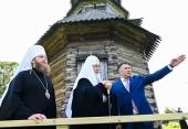 Святейший Патриарх Кирилл посетил храмы Торжка