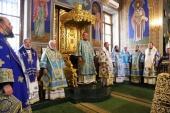 В праздник Казанской иконы Божией Матери в Кишиневе торжественно отметили 30-летие архиерейской хиротонии Предстоятеля Православной Церкви Молдовы