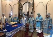 Состоялись торжества по случаю 10-летия возрождения Нарвской епархии