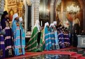 Слово Святейшего Патриарха Кирилла в день памяти святой равноапостольной княгини Ольги после Литургии в Храме Христа Спасителя