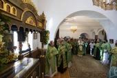 Председатель Синодального отдела по монастырям и монашеству возглавил торжества по случаю престольного праздника Стефано-Махрищского ставропигиального монастыря