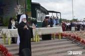 Митрополит Минский Павел посетил летний слет молодежи Белорусской Православной Церкви