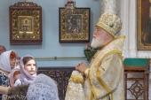 В День Крещения Руси Патриарший экзарх всея Беларуси совершил Литургию в Свято-Духовом кафедральном соборе Минска