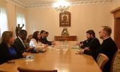 Состоялась встреча митрополита Волоколамского Илариона с председателем 73-й сессии Генеральной Ассамблеи ООН Марией Фернандой Эспиносой
