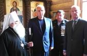 Председатель Государственной комиссии по подготовке к празднованию 100-летия Республики Карелия посетил храм пророка Божия Илии в Петрозаводске