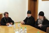 Митрополит Волоколамский Иларион встретился с участниками второго Летнего института для представителей Православной Церкви в Америке