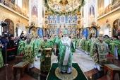 Святейший Патриарх Кирилл совершил великое освящение Успенского собора Саровской пустыни