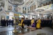 Председатель Синодального отдела по взаимодействию с Вооруженными силами освятил главную икону Воздушно-десантных войск и Воздушно-космических сил России