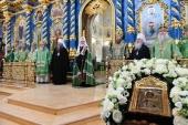Слово Святейшего Патриарха Кирилла после Литургии в Успенском соборе Саровской пустыни