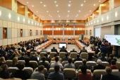 Предстоятель Русской Церкви встретился в Сарове с российскими учеными-ядерщиками