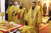 В Петропавловске-Камчатском молитвенно отметили престольный праздник строящегося Морского собора