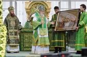 Слово Святейшего Патриарха Кирилла в день памяти преподобного Серафима Саровского после Литургии в Серафимо-Дивеевском монастыре