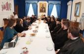 Делегация Православной Церкви в Америке посетила Синодальный отдел по благотворительности