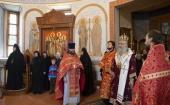 Председатель Синодального отдела по монастырям и монашеству возглавил торжества по случаю престольного праздника Борисоглебского Аносина ставропигиального монастыря