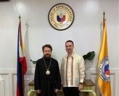 Митрополит Волоколамский Иларион встретился с председателем Палаты представителей Парламента Филиппин