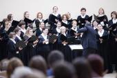 Женский хор Санкт-Петербургской митрополии стал обладателем трех первых премий конкурса «Поющий мир»