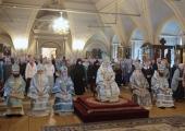 Патриарший наместник Московской епархии возглавил торжества по случаю престольного праздника Новодевичьего монастыря