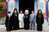 Митрополит Астанайский Александр совершил Литургию в Булаево — втором кафедральном городе Северного Казахстана