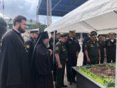 В Калининграде освящен камень на месте будущего филиала Нахимовского военно-морского училища