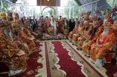Блаженнейший митрополит Онуфрий совершил Литургию в Свято-Аннинском женском монастыре на Буковине