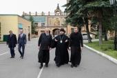 Председатель Финансово-хозяйственного управления посетил предприятие «Софрино»