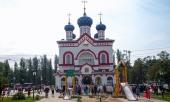 Глава Среднеазиатского митрополичьего округа возглавил освящение храма в честь иконы Пресвятой Богородицы «Нечаянная Радость» в Нижнем Новгороде