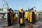 Корабль-церковь Новосибирской епархии «Святой апостол Андрей Первозванный» отправился в очередной миссионерский рейс