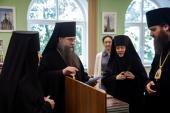 Представители Межведомственной комиссии по вопросам образования монашествующих посетили Коломенскую духовную семинарию
