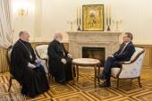 Состоялась встреча митрополита Минского Павла с послом Германии в Беларуси Манфредом Хутерером